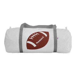Football Duffel Bag Gym Duffel Bag
