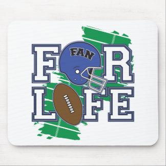 Football Fan Dark Blue Mouse Pad