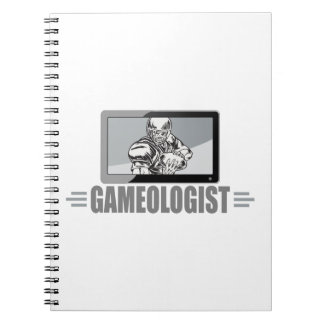 Football Fan Joke - Gameologist! Notebooks