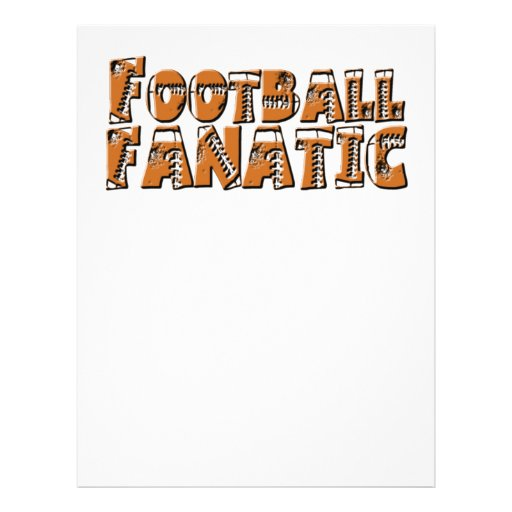 Football Fanatic Full Color Flyer