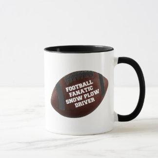 Football Fanatic Snow Plow Driver Mug