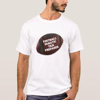 Football Fanatic Tax Preparer T-Shirt