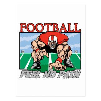Football Feel No Pain Postcard