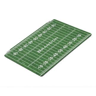Football Field Design iPad Cover