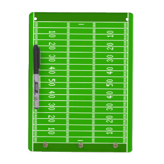 Football Field Dry Erase Board