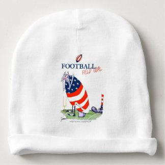 Football field goal, tony fernandes baby beanie