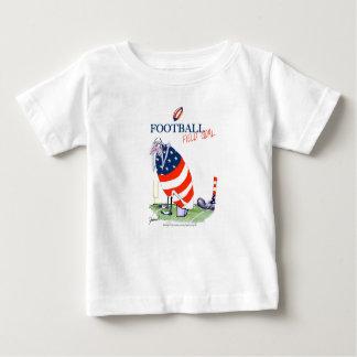 Football field goal, tony fernandes baby T-Shirt