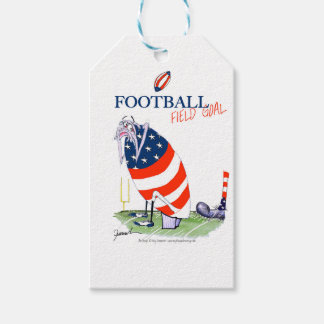 Football field goal, tony fernandes gift tags