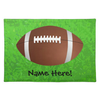 Football Field Junior Varsity Cloth Placemat