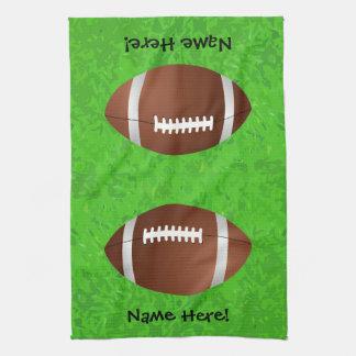 Football Field Junior Varsity Hand Towels