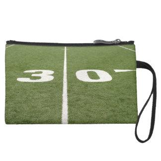 Football Field Thirty Wristlet Clutch
