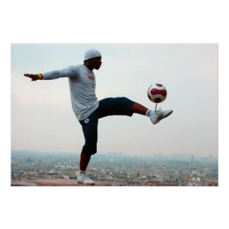 Football Freestyle Poster