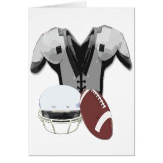 football gear card