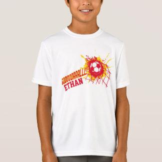 Football Goal net splat soccer custom t-shirt