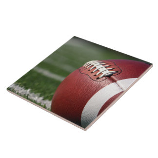 Football Gridiron Unique Ceramic Tile