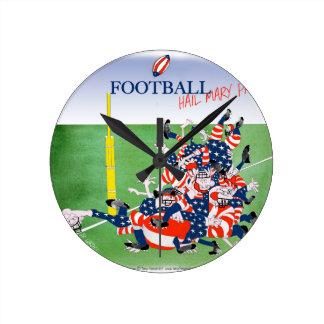 Football 'hail mary pass', tony fernandes clock