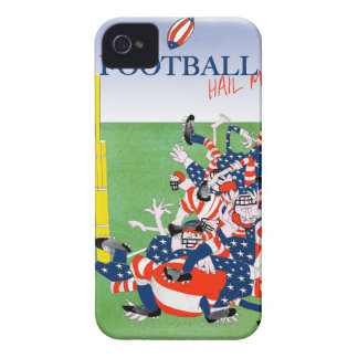 Football 'hail mary pass', tony fernandes iPhone 4 Case-Mate case