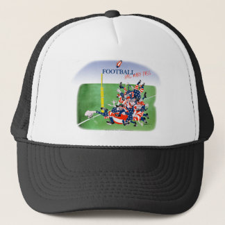 Football 'hail mary pass', tony fernandes trucker hat