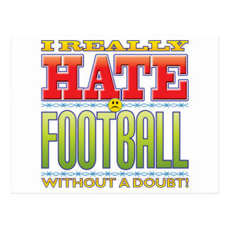 Football Hate Face Post Cards