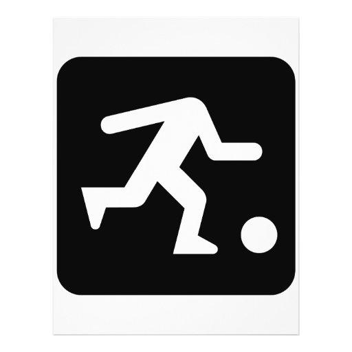 football head_WHITE Custom Flyer