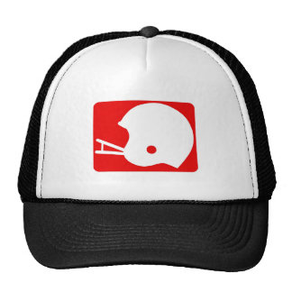 football helmet logo cap