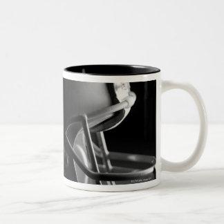 Football helmet Two-Tone coffee mug