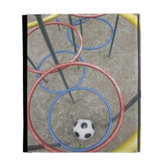 Football in Playground iPad Folio Case