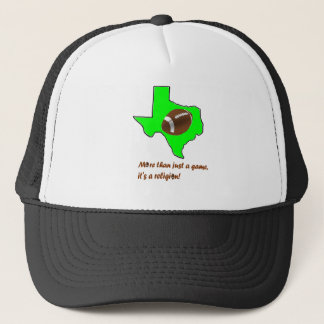 Football in Texas is Religion Trucker Hat