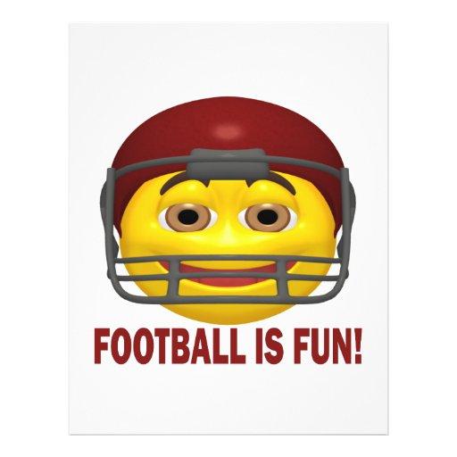 Football Is Fun Flyers