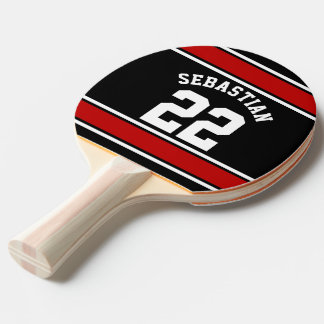Football Jersey Novelty Personalized Name Ping Pong Paddle