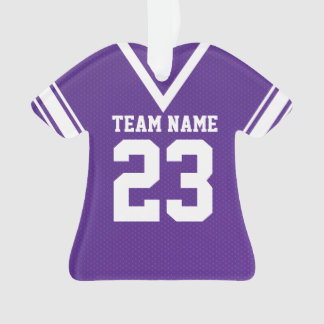 Football Jersey Purple Uniform
