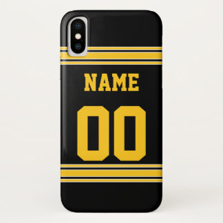 Football Jersey with Area To Customize iPhone X Case