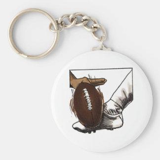 Football Kick T-shirts and Gifts Key Ring