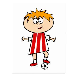 Football Kid Post Cards