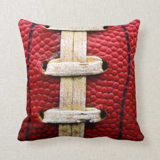 Football lace pillow