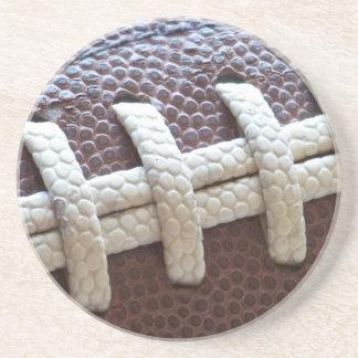 Football Laces Coaster