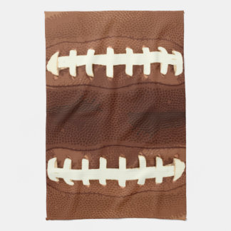 Football Laces Graphic Hand Towels