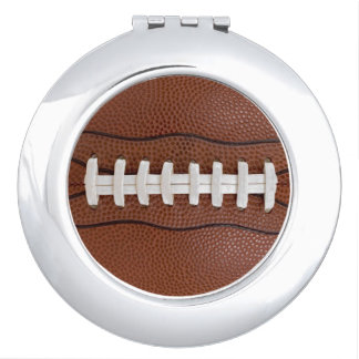 Football Ladies Fan Gift Idea Photo Compact Mirror