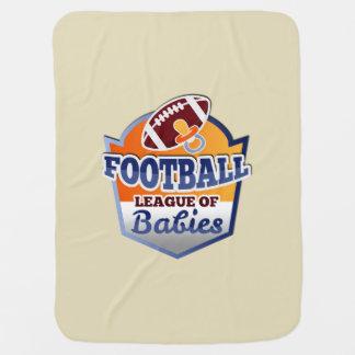 Football | League of Babies Baby Blanket