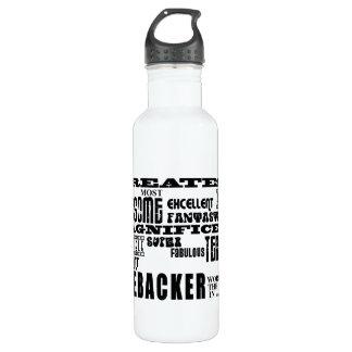 Football Linebackers : Greatest Linebacker 710 Ml Water Bottle
