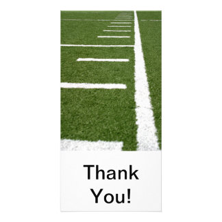 Football Lines Picture Card