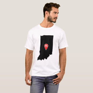FOOTBALL LOCATION IN INDIANA, FOOTBALL, T-Shirt