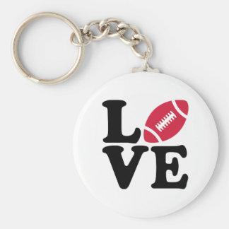 Football love key ring