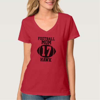 Football Mom 17 T-Shirt