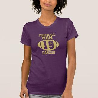 Football Mom 19 T-shirt