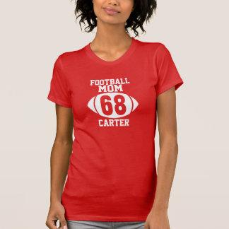 Football Mom #68 T-shirts