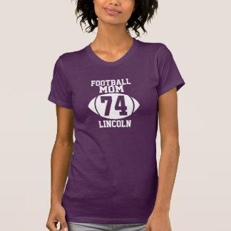 Football Mom 74 T Shirt