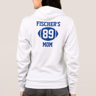 Football Mom Blue Hoodie
