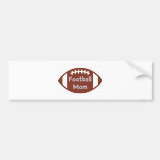 football mom bumper sticker