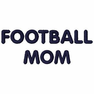FOOTBALL MOM shirt (embroidered)